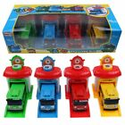 TAYO the Little Bus Special Friends Mini 4pcs Cars Toy Character Kids Gift