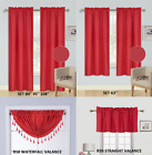 Kyпить PANELS OR VALANCES SOLID BLACKOUT ROD POCKET FOAM LINED WINDOW CURTAIN TREATMENT на еВаy.соm