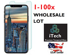"""Lot Accumulation 20x 50x 100x Tempered Glass Screen Protector for 5.8"""" iPhone X 8/7 Benefit"""