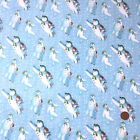 The Snowman & friends Christmas 100% Cotton Fabric per Half Metre or Fat Quarter