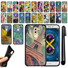 "For Huawei Honor 6X, Mate 9 Lite 5.5"" Black TPU SILICONE Soft Case Cover + Pen"