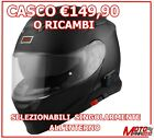 CASCO MODULARE CON INTERFONO BLUETOOTH V271 ORIGINE DELTA NERO OPACO PER BMW