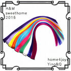 """10 Pieces 22"""" Clip in Hair Extensions Straight Multi-Color Party DIY Hair Clips"""