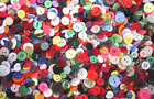 50g 100g SMALL SIZED MIXED BUTTONS MIXED COLOURS  RANDOM MIXED BUTTONS