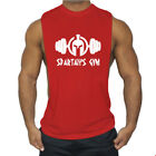 Men Bodybuilding Cotton Gym Muscle Pure Blank Short Sleeve Tee Fitness T Shirts