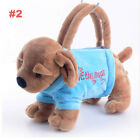 Plush Cartoon Dogs Bags Kids Coin Holder 3D Dog Toys for Children Gifts Pen BagY