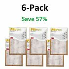 Filtrete  Air filter 3m 6 12 Pleated Furnace Replacement Pad Dust Pack Lot