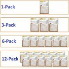Внешний вид - Filtrete- Air-Filter 3M 6 12 Pleated Furnace Replacement Pad Dust Pack Lot