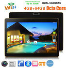 10.1'' Tablet PC Android 6.0 Octa Core 64GB 10 Inch HD WIFI 2 SIM 4G 3G Phablet
