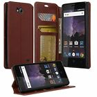 ZTE Majesty Pro Wallet Credit Card ID Kick Stand Flip Cell Phone Case Cover