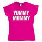 Yummy Mummy, Womens Mothers Day T Shirt