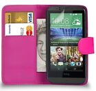 PU Leather Wallet Case Cover Pouch For HTC Desire 650 Mobile Phone