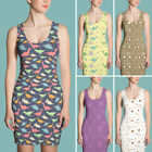 Funny Dinosaurs Dress Collection-Best Novelty Gift for Her-Sub Cut & Sew Dresses