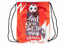 UNISEX SPORT BAG TRAINING FOOTBALL SOCCER MOTIVATION DRAWSTRING SHOE BAG SACK