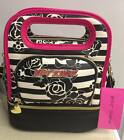 NWT ~ INSULATED BETSEY JOHNSON LUNCH BAG TOTE ~ 2 STYLES TO CHOSE FROM
