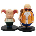 2 Pcs/Set Dragon Ball Z Master Roshi Oolong Action Figure Collectible Model Toy