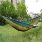 Portable Parachute Nylon Fabric Hammock For Two Person Lover Outdoor Travel