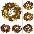 Gold Happy Birthday Confetti 30 40 50 Age Number Birthday Decor Party Supplies