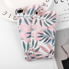 For iPhone 5 6 6S X 7 8 Plus Case Shockproof Ultra Thin Pattern Hard Back Cover