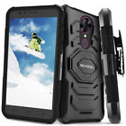 T-Mobile REVVL Plus Case, Evocel Rugged Holster Dual Layer + Kickstand& Clip
