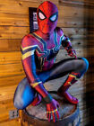 2017 Spider-Man Homecoming Cosplay Costume Halloween Spiderman Fullbody Tights