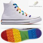 New Unisex Converse Chuck Taylor All Distinguished Pride LGBT White Various Sizes