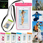 Waterproof Bag Underwater Pouch Dry Case Cover For Samsung iPhone Cell Phone