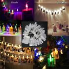 4/10M 40/100 LEDs Card Picture Photo Clips Pegs Bright String Light Lamp Gifts