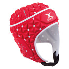 WR Approved Gilbert Ignite Rugby Headguard/Scrum Cap -Headgear/Head Guard in Red