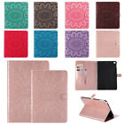 Smart Embossed Case PU Leather Stand Cover for iPad Air 9.7 Mini 2 3 4 Pro 10.5