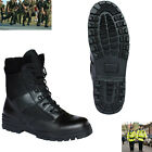 Military Half Leather Army Combat Patrol Boot Black Tactical All Sizes New Cadet