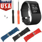 US Silicone Replacement Watch Band Strap + Tool Kit for Fitbit Surge Wristband