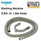 Washing Machine waste pipe Water hose Flexible Dishwasher Drain hose 1.5 or 2.5m