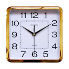 Plastic Frame Digital Wall Clock Non ticking Silent Mordern Simple characters