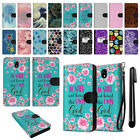 "For Samsung Galaxy J7 Pro J730 5.5"" 2017 Wallet Pouch Case Cover + Pen"