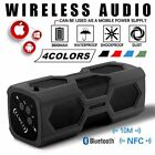 Wireless Bluetooth 4.2 Speakers Portable Subwoofer Super Bass Stereo Waterproof