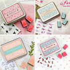 12Pcs/pack Rubber Scrapbooking Diary Card Decor Stamp Seal Cling DIY Craft HOT