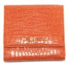 7943U portafoglio donna MARELLA WITHOUT BOX ecopelle orange wallet woman