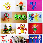 100pcs Chenille Stems Pipe Cleaners Kids Educational Toy DIY Craft Twist Rod