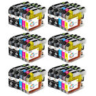 Lot LC123 XL Ink for Brother MFC-J650DW MFC-J6520DW J870DW J4510DW DCP-J4110DW