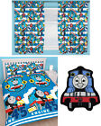 "Thomas Tank Engine Patch Double Duvet Bedding 66""x72"" Curtains Rug - 4 Choices"