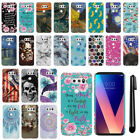 "For LG V30 6"" LG V30+ Plus H930 VS996 H931 HARD Protector Back Case Cover + PEN"