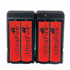 Ultrafire 18650 Battery 6800mAh Li-ion 4.2V Rechargeable Batteries for Torch USA