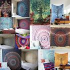 Cotton Queen Wall Hanging Tapestry Mandala Bedspread Hippie Indian Decor Blanket
