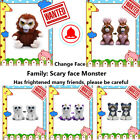 Feisty Toys Soft Plush Stuffed Scary Face Parent-Child Interactive Birthday Gift
