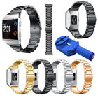 For Fitbit Ionic Stainless Steel Metal Bracelet Strap Replacement Watch Band image