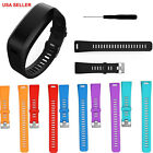 Local Replacement Silicone Watch Band Bracelet+Tool For Garmin Vivosmart HR 10