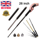 21/26 Inch Professional Retractable Stick Telescopic Whip Rod Outdoor Tool+Cap