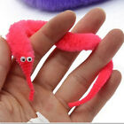3/6/10Pcs Magic Twisty Fuzzy Worm Wiggle Moving Sea Horse Kids Trick Toy .