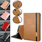 Smart PU Leather Folio Stand Case Cover for Samsung Tab A 8.0 SM-T385 T380 2017